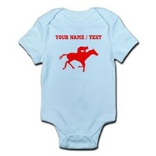 Red Horse Racing Silhouette (Custom) Body Suit