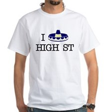 "I ""Sombrero"" High St T-shirt"