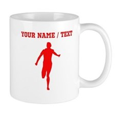 Red Runner (Custom) Mugs