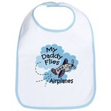 My Daddy Flies Airplanes Baby Boy/Toddler Bib