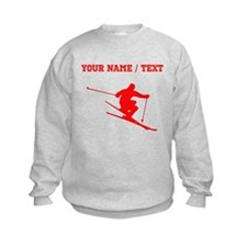 Red Skier (Custom) Sweatshirt
