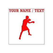 Red Boxer (Custom) Sticker