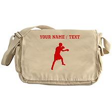 Red Boxer (Custom) Messenger Bag