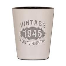 Vintage 1945 Birthday Shot Glass