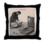 Suffocation Device Throw Pillow