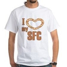 I Love My SFC White T-shirt