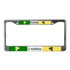 Moore (In Gaelic & English) License Plate Frame