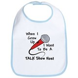 Talk Show Host Baby/Toddler Bib