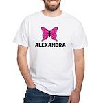 Butterfly - Alexandra White T-shirt