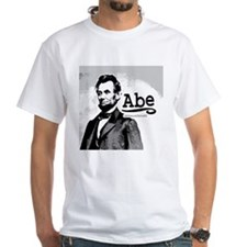 "SAMPLE ""Abe"" White T-shirt from Shop Above"