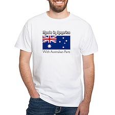 Australian Parts White T-shirt