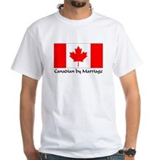 Canadian by Marriage White T-shirt