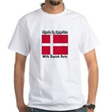 Danish Parts White T-shirt