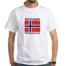 Norwegian Parts White T-shirt