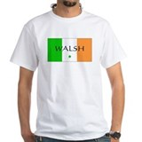 Irish/Walsh White T-shirt