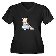 VACUUMING PIG Plus Size T-Shirt