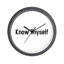 know thyself Wall Clock