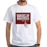 VANDELAY INDUSTRIES #1 in LATEX - White T-shirt