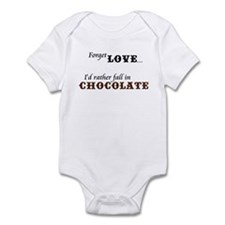 I'd Rather Fall in Chocolate Infant Bodysuit