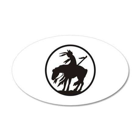 AMERICAN INDIAN OPEN Wall Decal