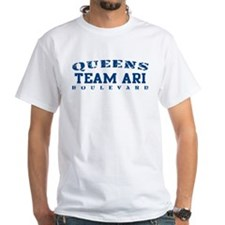 Team Ari - Queens Blvd White T-shirt
