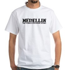 Medellin - The Pablo Escobar Story White T-shirt