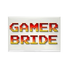 Gamer Bride Rectangle Magnet