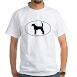 Am Foxhound Silhouette White T-shirt