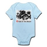 Year of The Dragon Infant Creeper