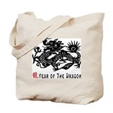 Year of The Dragon Tote Bag