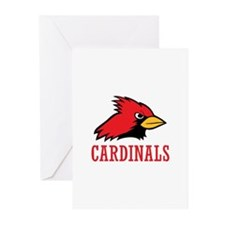 CARDINALS Greeting Cards