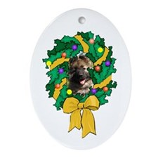 Shiloh Puppy Oval Ornament
