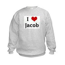 I Love Jacob Sweatshirt