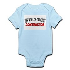"""""""The World's Greatest Contractor"""" Infant Bodysuit"""