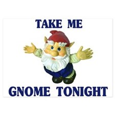 Take Me Gnome Tonight Invitations