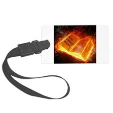 Read Banned Books Luggage Tag
