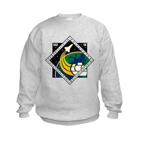 STS 122 Atlantis Kids Sweatshirt