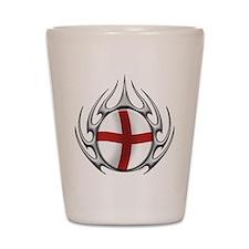 tribal England (T).png Shot Glass