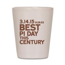 Best Pi Day Shot Glass