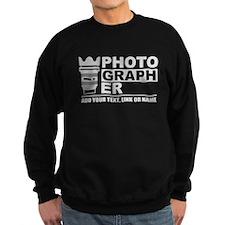 Custom Photographer Sweatshirt