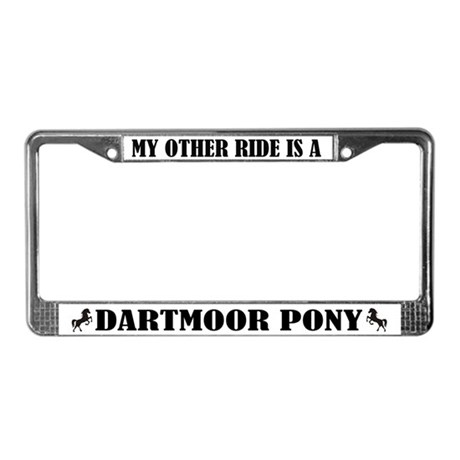 My Other Ride Is A Dartmoor License Plate Frame