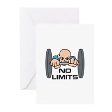 NO LIMITS Greeting Cards