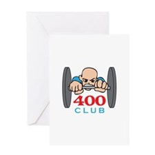 FOUR HUNDRED CLUB Greeting Cards