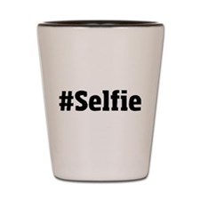 #Selfie Shot Glass