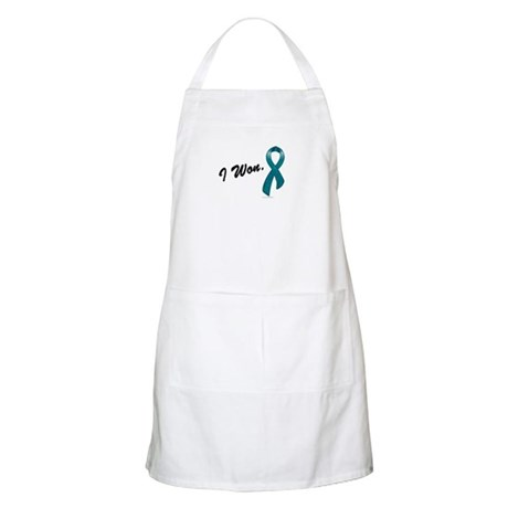 I Won Ovarian Cancer Survivor BBQ Apron