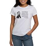Henry David Thoreau 6 Women's T-Shirt