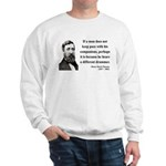 Henry David Thoreau 6 Sweatshirt