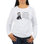 Henry David Thoreau 6 Women's Long Sleeve T-Shirt