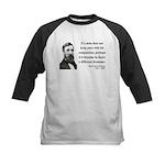 Henry David Thoreau 6 Kids Baseball Jersey