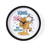 Hugs...No Waiting! Wall Clock